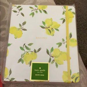 Kate Spade ♠️ Recipe Book